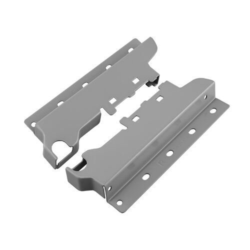 For Single Lateral Rail with 115mm Height Sides, Rear Fixing Brackets