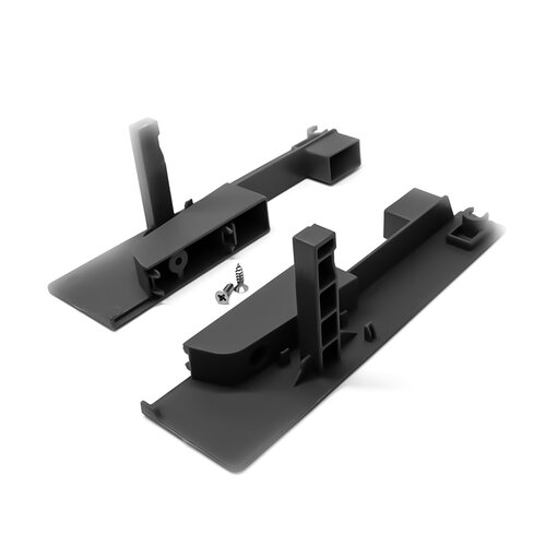 Front Fixing Bracket for Internal Drawer with Square Rails, 115 mm Height Sides