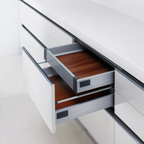 Doublewall Drawer System - Infinity Push System