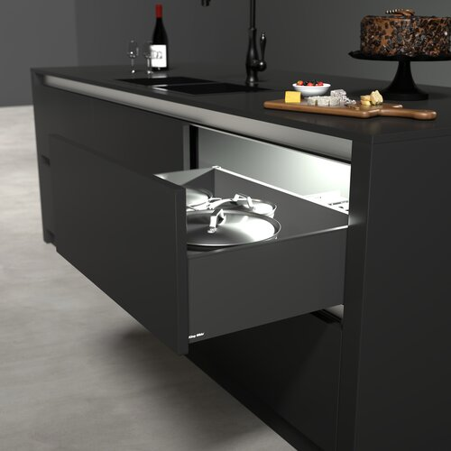 SIMLEAD Metal Drawer - 185mm Height Sides