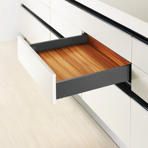 Legacy Prima Standard Metal Drawer Sides, 88mm Side Height