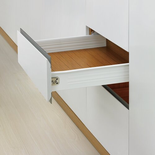 Metalbox Soft-Close Drawer Kits with Lateral Rails