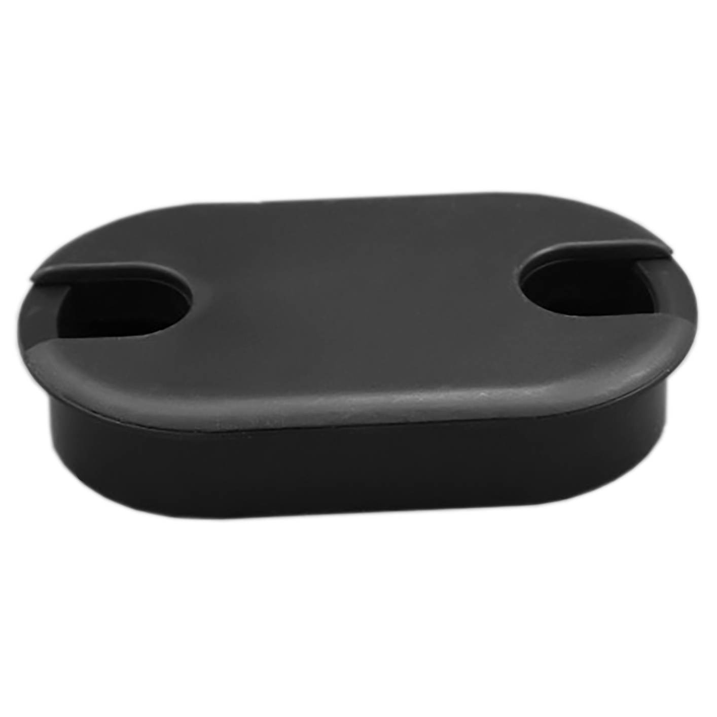 Grommet oval 3 1 4 x 1 3 4 black 03 2219 marathon for 3 furniture grommet