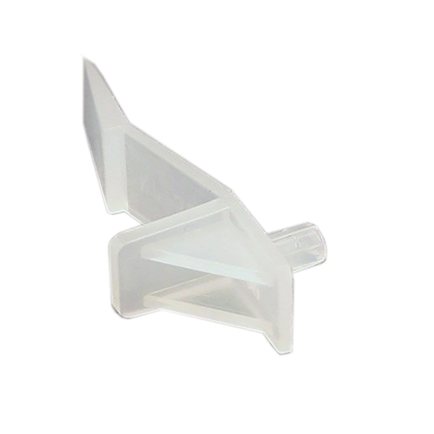 Locking Shelf Support For 5 8 Quot Board White 03 2426 W