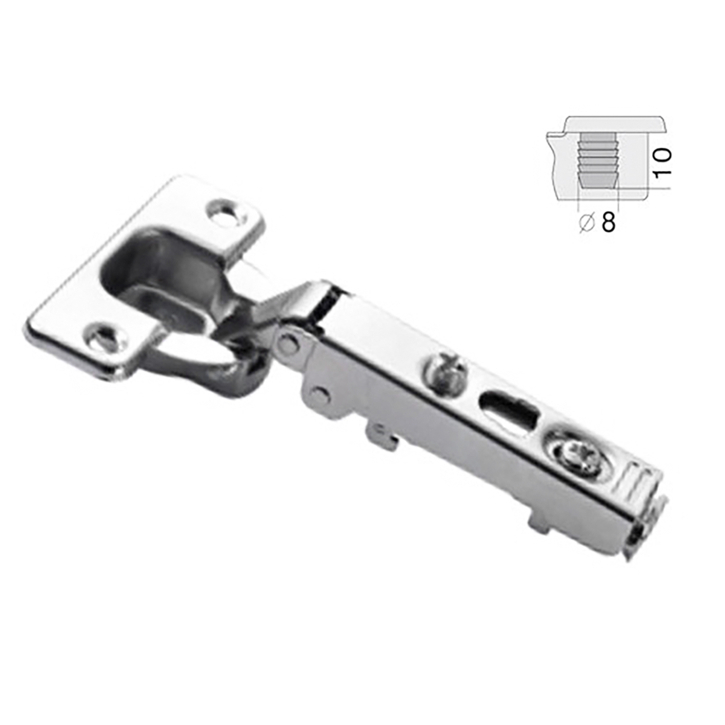 Hinge 110 Full Overlay Clip On 105 A475 Marathon Hardware