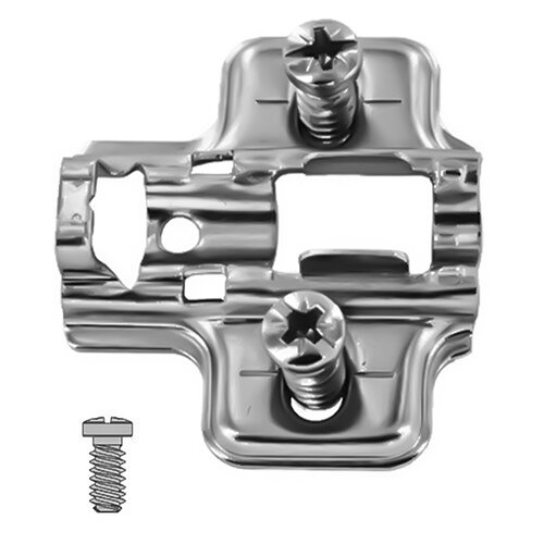 Clip-On Mounting Plate, Euro-Screws