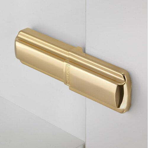 Glossy Gold Lapis Hinge Covers