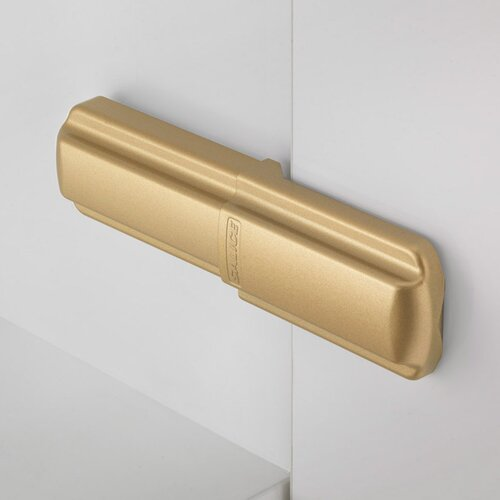 Satin Gold Lapis Hinge Covers