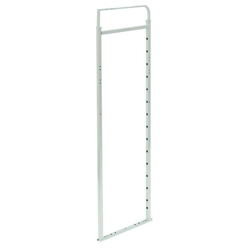 Pantry Pull Out Frame for use with Pivoting Slide, Light Grey