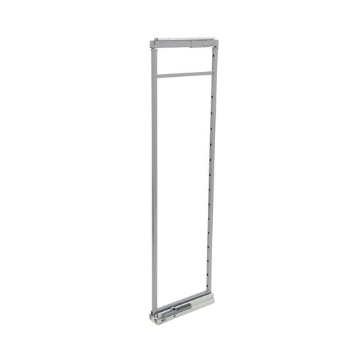 Pantry Pull Out Frame and Slide, Light Grey