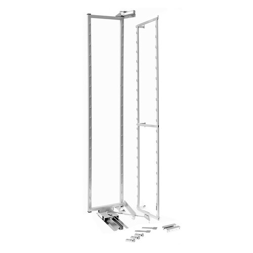 Pantry Swing Out Frame and Slide, 1700mm Light Grey