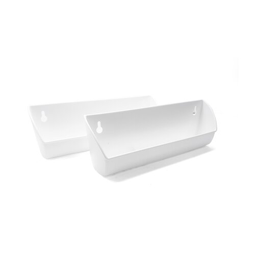 Tip Out Trays, White