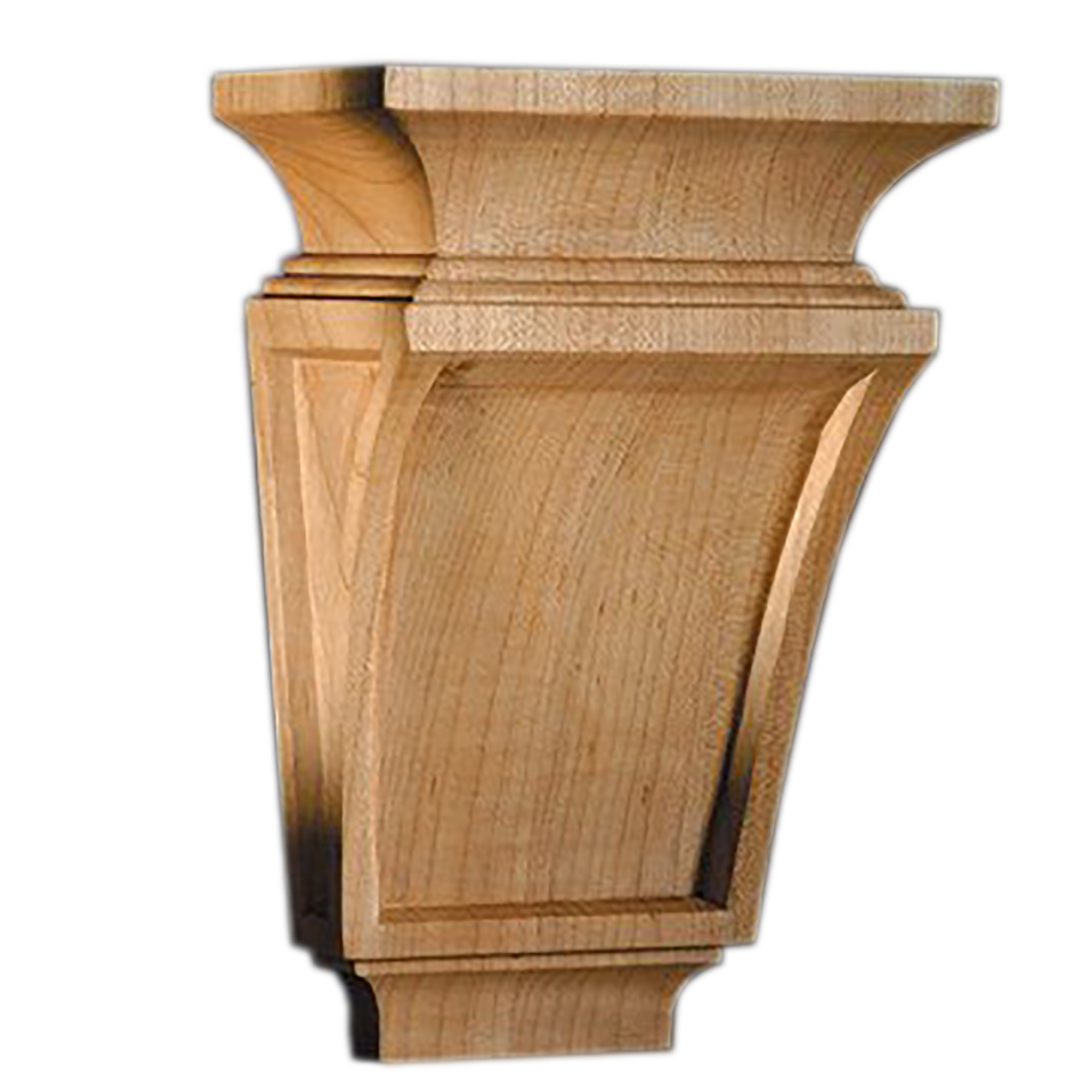 Medium corbel mission maple 14 1999m marathon hardware for Architectural corbels and brackets